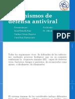 Mecanismos de Defensa Antiviral, Virologia