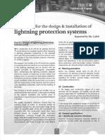design of lightning