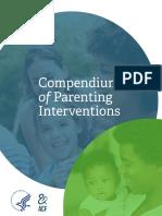 Compendium of Parenting Interventions 911 508