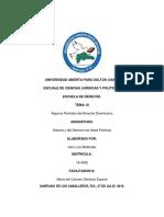 Tarea III de Historia del Derecho  y las Ideas polistica.docx