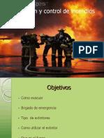 Evacuacion y Control de Incendios