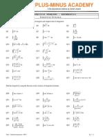 Indefinite Integral- DPP 1