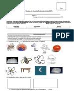 Prueba Ciencias Naturales Unidad 2.doc