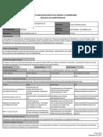 Planeacion Didactica Tecnologias de La Informacion y Comunicacion Ingenieria en Tecnolo