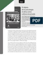 EL objeto de la psicología el alma como cultura encarnada.pdf