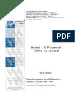 Proceso Del Diseño Instruccional Unidad I
