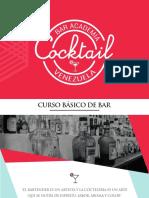 Presentación Curso Básico de Bartender