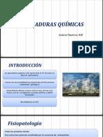 Quemaduras Quimicas y Radiacion