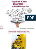 Apresentação recepção alunos LEC