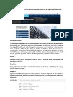 Especialización en Proyectos Estructurales de Edificios de Acero Con Tecnología Bim