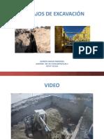 Trabajos de Excavación y Demolición