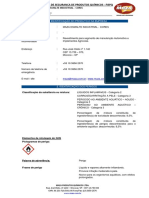 FISPQ Esmalte Industrial Cores