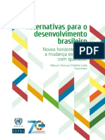 CEPAL Alternativas Para o Desenvolvimento Brasileiro