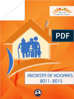 encuesta hogares 2011 - 2015