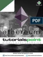 Ethereum Tutorial