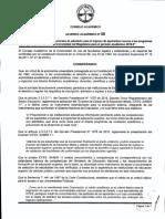 Acuerdo Academico 08 de 2019