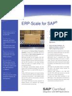 Como integrar balança com SAP