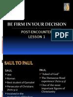 Lesson 1 Post enc