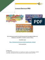 Escuelas Digitales PRD