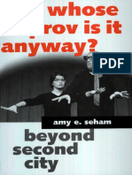 Amy E. Seham - Whose Improv is It Anyway__ Beyond Second City-University Press of Mississippi (2001)
