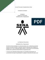 Estructura Indicador Sena Documento