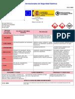 Hoja de Seguridad Fosfina ( Europa)