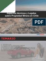 Aspectos Técnicos y Legales sobre Propiedad Minera en Chile