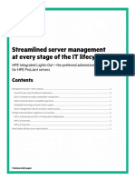 Streamlined server management at every stage of the IT lifecycle