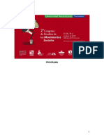 Programa Preliminar Del II Congreso