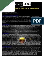 Ryan's Top 5 Things To Look For In a Residency.pdf
