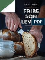 Faire Son Levain_ Pour Un Pain - Mouni Abdelli