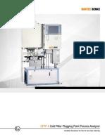 Cold Filter Plugging Point Analyzer CFPP 4 BARTEC BENKE