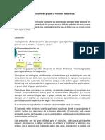 Conducción de Grupos y Recursos Didácticos.