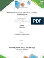 Fase 2 – Elaborar Documento de Identificación y Análisis de Variables