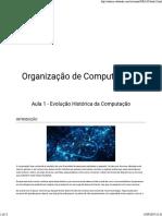 Organização de Computadores