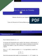 Clase Cholesky