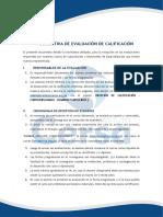 Normativa de Calificación Cersa