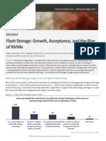 ESG Brief Flash Storage Growth