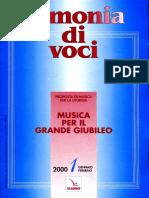 Armonia Di Voci 2000 01