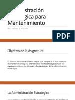 Administración Estratégica para Mantenimiento.pptx
