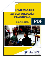 Diplomado en consultoria filosofica