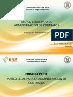 MARCO LEGAL ADMINISTRADOR DE CONTRATO