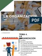 La Organización - Administración II