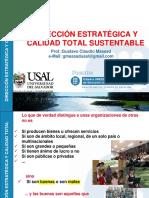 Direccion Estrategica y Calidad Total Sustentable