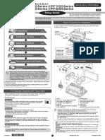 IPF680 IPF685 IPF780 IPF785 Setup Guide