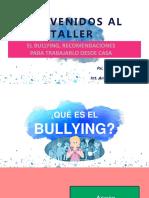 Bullying-Taller Para Padres