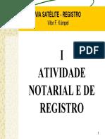 Direito Notarial e Registral Tópicos