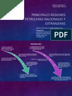 Principales Regiones Petroleras Nacionales y Extranjeras