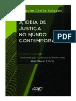 SALGADO, Joaquim Carlos. a Ideia de Justiça No Mundo Contemporâneo (Introdução)