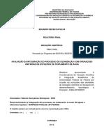AVALIAÇÃO DA INTEGRAÇÃO DO PROCESSO DE OZONIZAÇÃO COM OPERAÇÕES UNITÁRIAS DE ESTAÇÕES DE TRATAMENTO DE ÁGUA